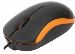 Миша Omega OM-07 3D optical Orange