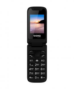 Мобільний телефон Sigma mobile X-STYLE 241 SNAP Black