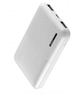 Внешний аккумулятор Florence T-WIN 5000mAh White (FL-3001-W)