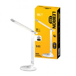 Лампа Lebron L-TL-L8S-Wh 8W 4100K 600Lm