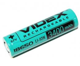 Аккумулятор Videx Li-Ion 18650 3400mAh
