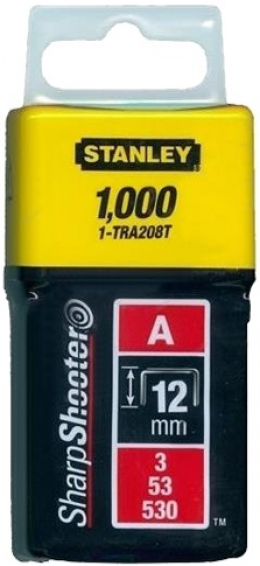 Скобы Stanley Light Duty 1-TRA208T