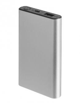 Внешний аккумулятор Florence Aluminum 5000mAh Grey (FL-3000-G)