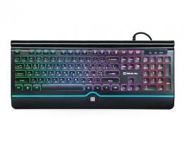 Клавиатура Real-El Comfort 8000 Backlit Black USB (EL123100033)