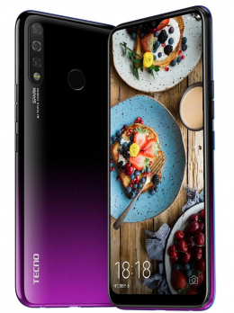 Смартфон Tecno Spark 4 2/32 (KC8) DualSim Royal Purple