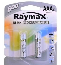 Акумулятори Raymax HR03 AAA 600 mAh 1,2 V Ni-MH
