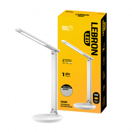 Лампа Lebron L-TL-L-9S-Wh 9W 3000K-6500K 600Lm
