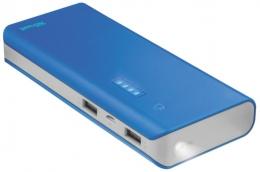 Зовнішній акумулятор Trust Primo 10000 Blue