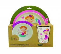 Набір дитячого посуду Con Brio CB-251
