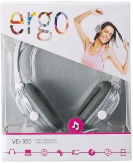 Навушники Ergo VD-300 Silver