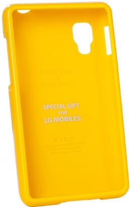 Чохол VOIA LG Optimus L4II Single Jelly Yellow