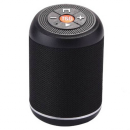 Портативна колонка Bluetooth T&G TG-517 black