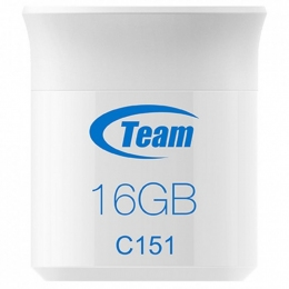 USB-флеш-накопичувач 16GB Team C151 White TC15116GL01