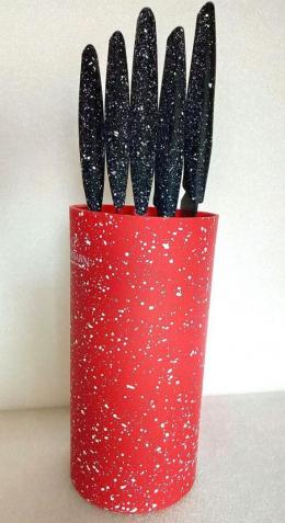 Набір ножів Bohmann BH-6165 Red