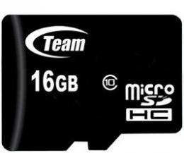 Карта пам'яті Team microSDHC 16 Gb Class 10