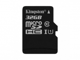 Карта пам'яті Kingston MicroSDHC 32GB Class 10 SDCS/32GBSP