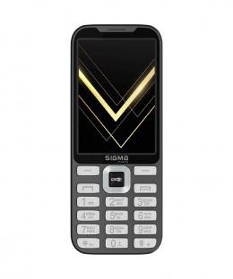 Мобільний телефон Sigma mobile X-style 35 Screen Gray