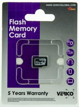 Карта пам'яті Verico microSDHC 32 Gb Class 4