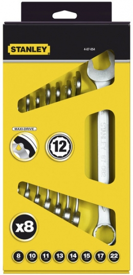 Набор гаечных ключей Stanley Maxidrive 4-87-054