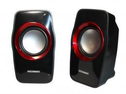 Акустика Greenwave SA-602 Black-Red