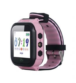 Детские часы с GPS трекером ERGO GPS Tracker J020 Pink