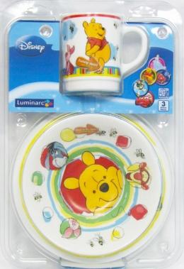 Набір дитячого посуду Luminarc Disney Winnie the Pooh G8616