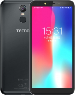 Смартфон Tecno Pouvoir 2 Pro (LA7 pro) Black + подарунок