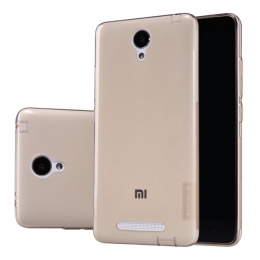Накладка силіконова Nillkin для Xiaomi Redmi Note 2 Nature TPU Brown