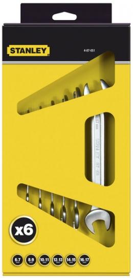 Набір ріжкових ключів Stanley Maxidrive Plus 4-87-051
