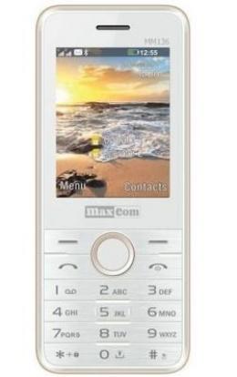 Мобільний телефон Maxcom MM136 White-Gold