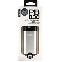 Внешний аккумулятор Havit HV-PB830 4400 mAh silver