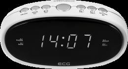 Радіо-годинник ECG RB 010 White