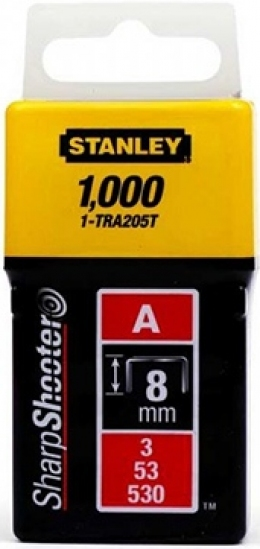 Скобы Stanley Light Duty 1-TRA205T