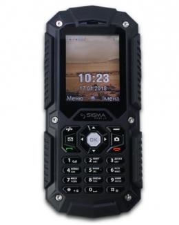 Мобільний телефон Sigma mobile X-treme PQ67 Black