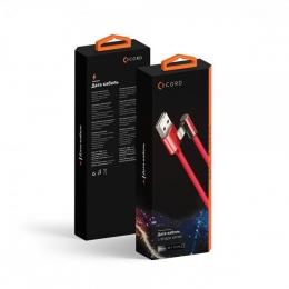 USB кабель Lightning Cord Comfort L-shape 1м 2A Black (CDC-L1-2B)
