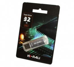 USB-флеш-накопичувач Hi-Rali 32GB Rocket series Silver (HI-32GBVCSL)