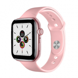 Смарт-годинник Apl Watch Series 7 W78Pro 44mm Aluminium Pink