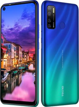 Смартфон Tecno Spark 5 Pro KD7 4/64GB DS Seabed Blue