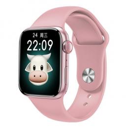 Смарт-часы Apl Watch Series 6 M16 PLUS 44mm Aluminium Pink