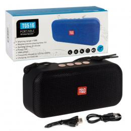 Портативна колонка Bluetooth T&G TG-516 black