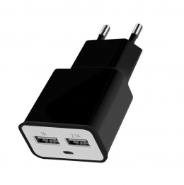 Зарядное устройство Florence 2USB 2A (FW-2U020B)