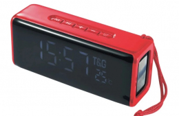 Портативна колонка Bluetooth T&G TG-174 red