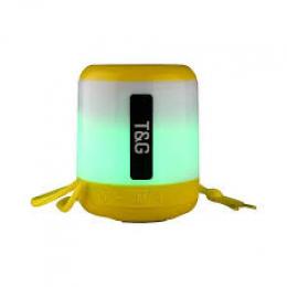 Портативная колонка Bluetooth T&G TG-156 yellow