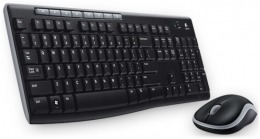 Комплект (клавіатура + миша) LOGITECH Wireless Combo MK270