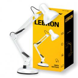 Лампа Lebron L-TL-Telescopic E27 40W (15-11-80) Біла