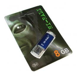 USB-флеш-накопитель Hi-Rali 8GB Rocket Blue