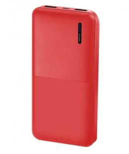Внешний аккумулятор Florence T-WIN Li-Pol 10000mAh Red (FL-3021-R)