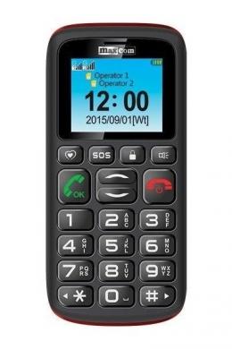 Мобільний телефон Maxcom Comfort MM428 Black